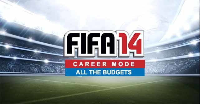 The Transfer Budgets of all FIFA 14 Clubs in Career Mode