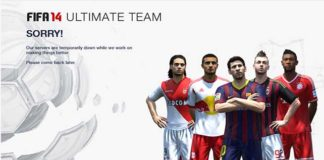 FIFA 14 Ultimate Team Maintenance