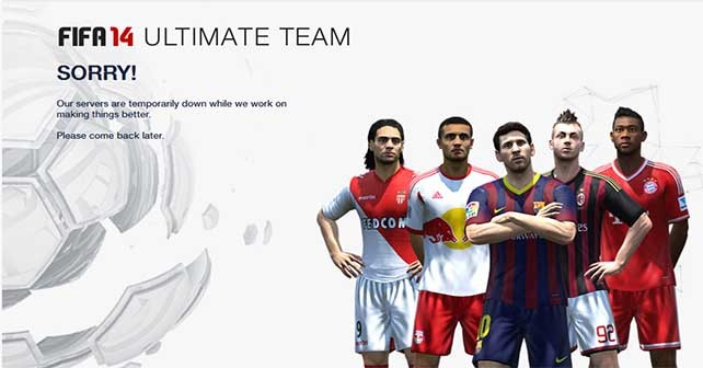 FIFA 14 Ultimate Team Maintenance