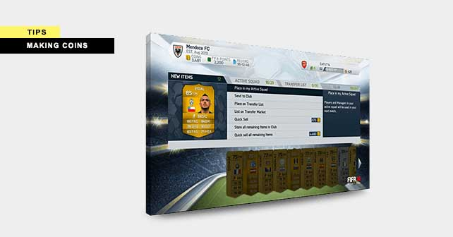 Making Coins Tips for FIFA 14 Ultimate Team