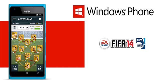 FIFA 14 Companion App is Finnaly Available for Windows Phone Devices