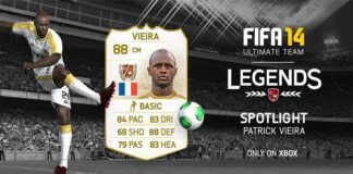 FUT 14 Legends Spotlight - Patrick Vieira is the New Legend of the Week