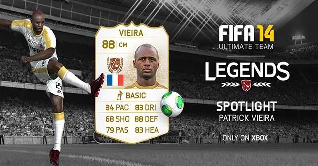 Lista Completa das Lendas da Semana em FIFA 14 Ultimate Team