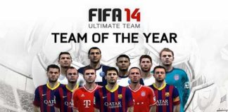Released the Team of The Year for FIFA 14 Ultimate Team