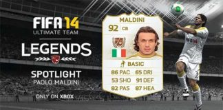 FUT 14 Legends Spotlight - Paolo Maldini is the New Legend of the Week