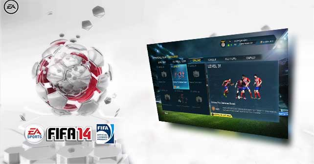 EA Sports Football Club Catalogue - On Line Items