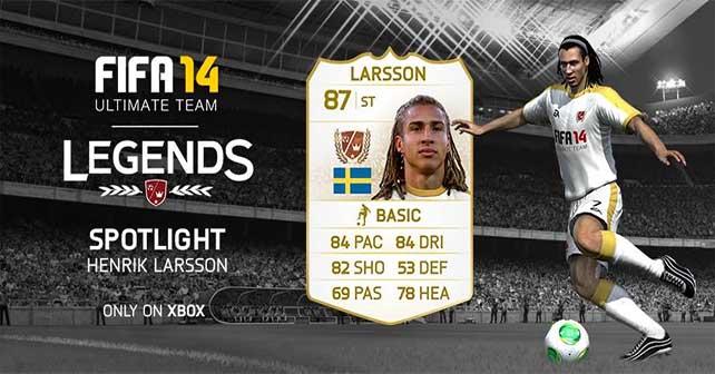 FUT 14 Henrik Larsson