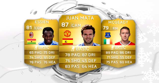 FIFA 15 Ultimate Team Winter Transfers: First Batch