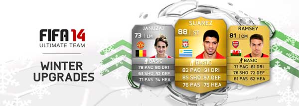 FIFA 14 Ultimate Team Winter Upgrades: Second Batch