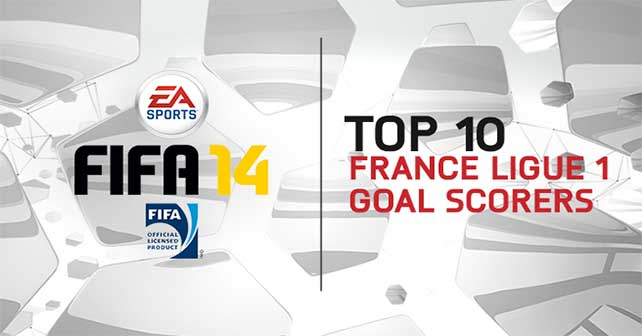 TOP 10 Ligue 1 Goal Scorers in FIFA 14