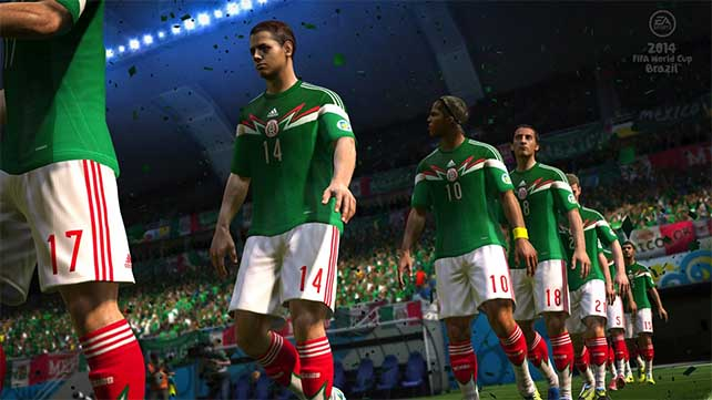 2014 FIFA World Cup Brazil on Stores this April