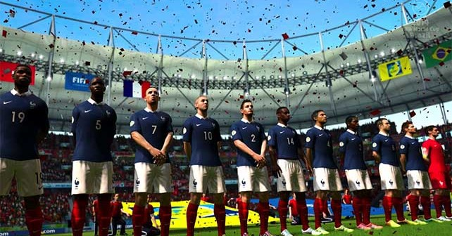 List of all National Teams Included in EA Sports 2014 FIFA World Cup Brazil