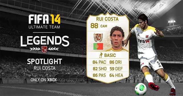 Fut 14 legends spotlight rui costa is the new legend of for Deco 90 fut 18