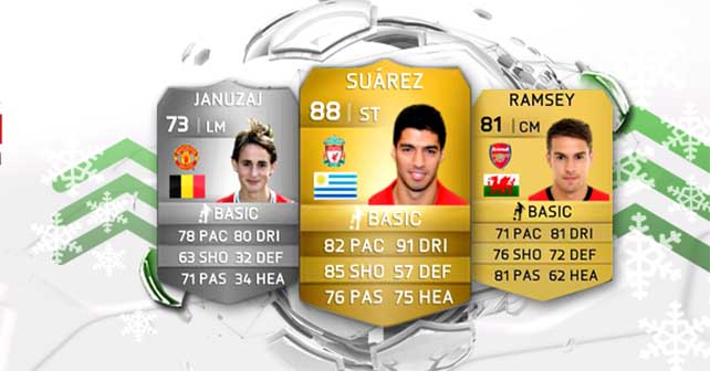 FIFA 14 Ultimate Team Winter Upgrades