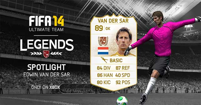 FUT 14 Legends Spotlight - Van Der Sar