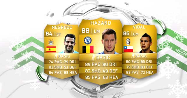 FIFA 14 Ultimate Team Winter Upgrades: Second Batch