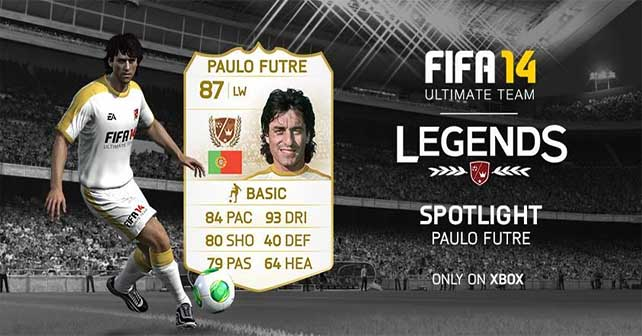 FUT 14 Legends Spotlight - Paulo Futre