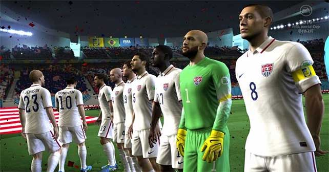Five Game Play Changes of EA Sports 2014 FIFA World Cup Brazil