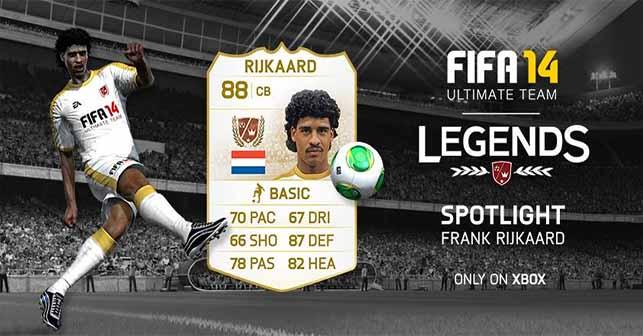 Lenda FUT 14 Frank Rijkaard