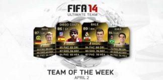 FIFA 14 Ultimate Team - TOTW 29