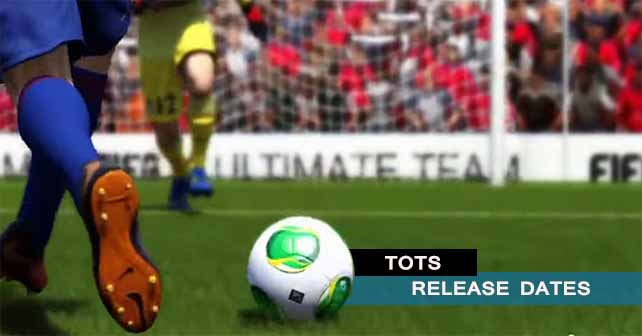 TOTS Release Dates for FIFA 14 Ultimate Team