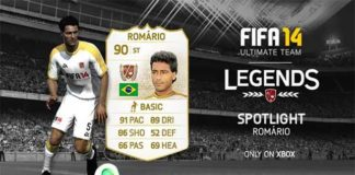 FUT 14 Legends Spotlight - Romário is the New Legend of the Week