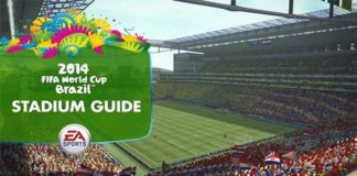 The New Stadiums of EA Sports 2014 FIFA World Cup Brazil