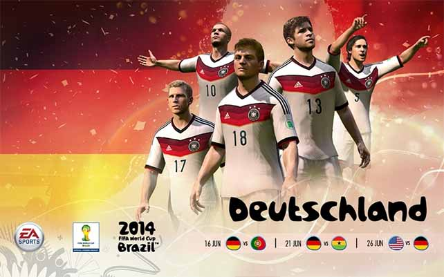 FIFA World Cup National Teams Wallpapers