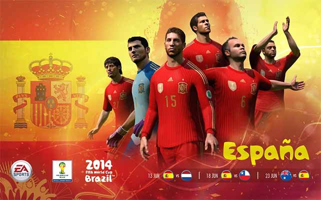 Official EA Sports 2014 FIFA World Cup National Teams Wallpapers