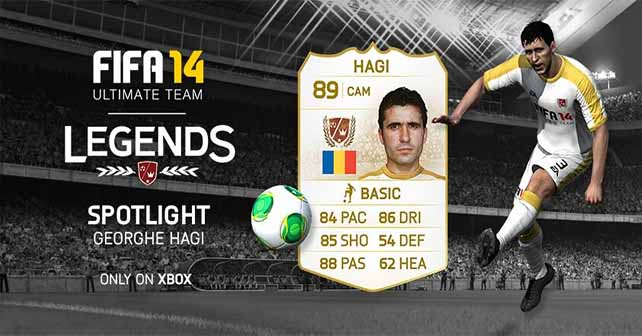FUT 14 Legends Spotlight