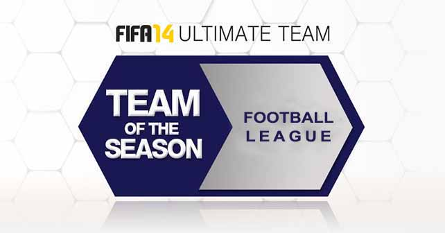 FUT 14 Football League TOTS – The Best Players of Lower English Divisions