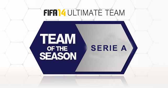FUT 14 Serie A TOTS – The Best Players Playing in Italy
