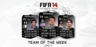 FIFA 14 Ultimate Team - TOTW 39