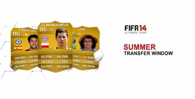FIFA 14 Ultimate Team Summer Upgrades