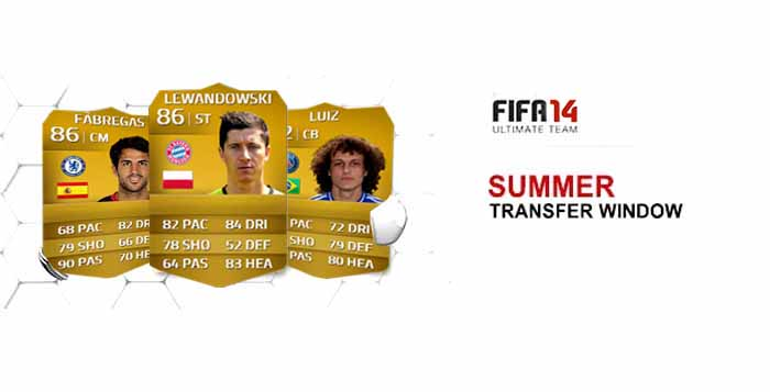 FIFA 14 Ultimate Team Summer Upgrades