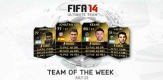 FIFA 14 Ultimate Team - TOTW 42