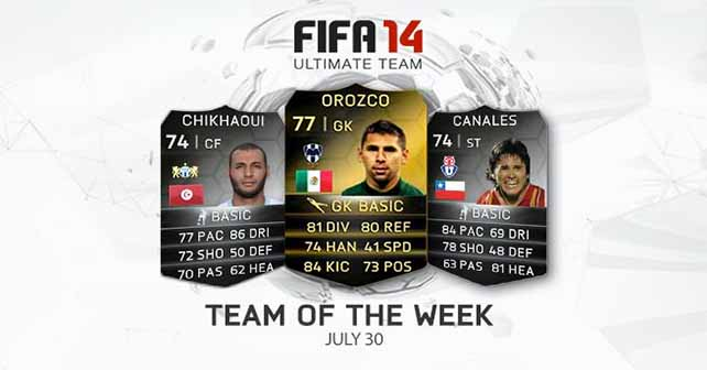 FIFA 14 Ultimate Team - TOTW 43