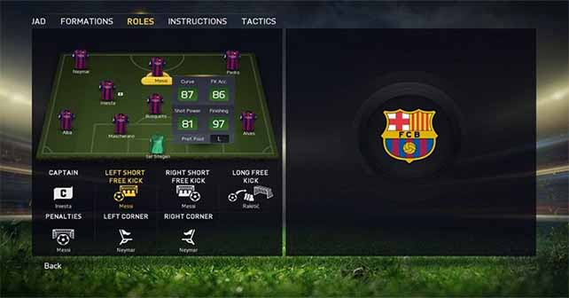 New Team Management System on FIFA 15