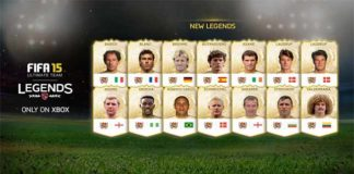 Fifteen New Legends are coming to FIFA 15