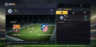 New EA Sports Football Club Widget