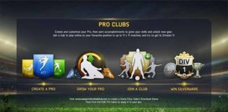 Pro Clubs and other FIFA 15 Game Modes
