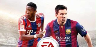 David Alaba joins Messi on the FIFA 15 cover for Austria
