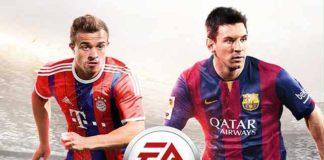 Xherdan Shaqiri joins Messi on the FIFA 15 cover for Switzerland