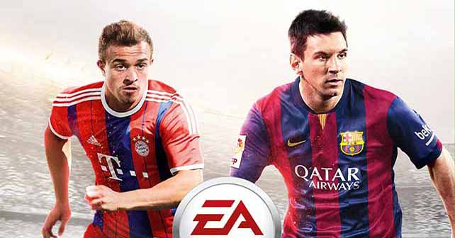 Shaqiri Joins Messi On The Fifa 15 Cover For Switzerland