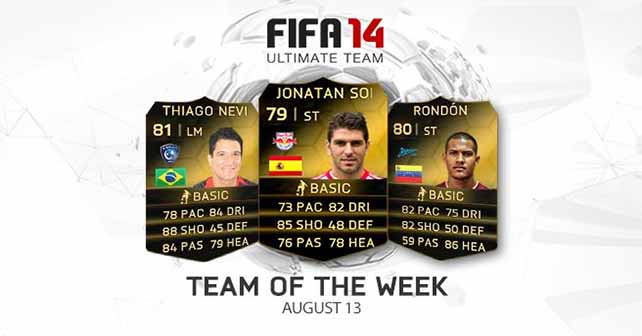 FIFA 14 Ultimate Team - TOTW 45