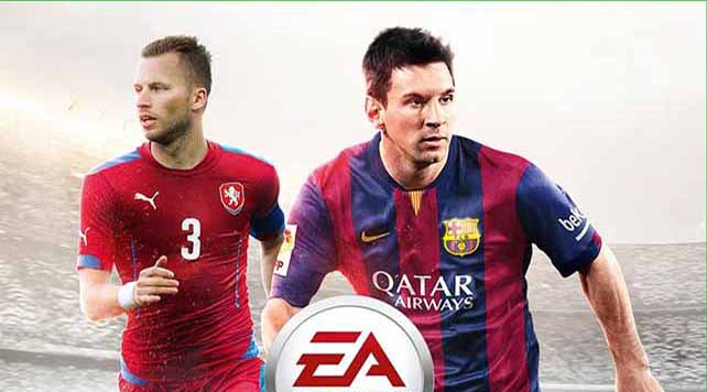 Michal Kadlec joins Messi on the FIFA 15 cover for Czech Republic