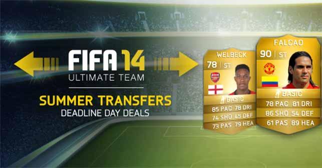 FIFA 14 Ultimate Team Summer Transfers: Thirteenth Batch