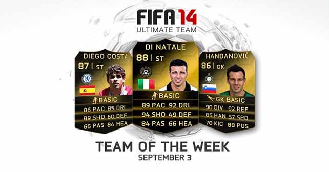 FIFA 14 Ultimate Team - TOTW 48