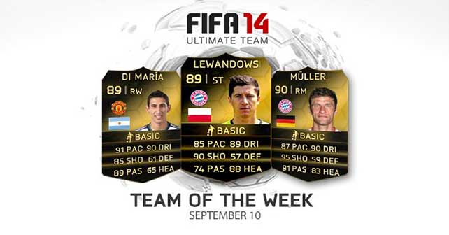 FIFA 14 Ultimate Team - TOTW 49