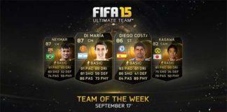 FIFA 15 Ultimate Team - TOTW 1